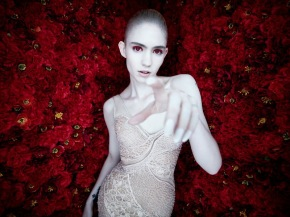 Grimes releases self-directed video 'Flesh without blood'