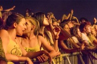 Rufus's crowd @ Falls Festival, Mt Duneed Estate (30.12.15)