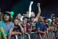 Foal's crowd @ Falls Festival - Mt Duneed, (31.12.15)