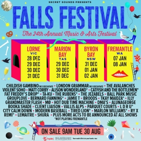 Falls Festival announce 2016/17 line-up and announce leg in Fremantle!